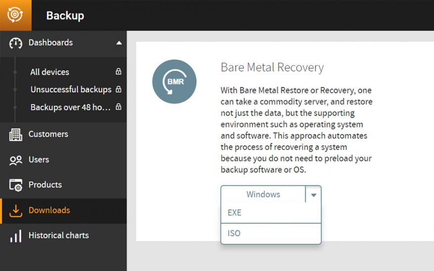 bare-metal-recovery